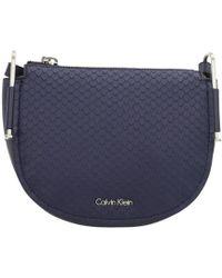 Calvin Klein Jeans - Arch Men's Shoulder Bag In Blue - Lyst