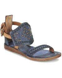 A.S.98 - Ramos Women's Sandals In Blue - Lyst