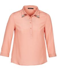 Color Block - Fresno Women's Shirt In Pink - Lyst