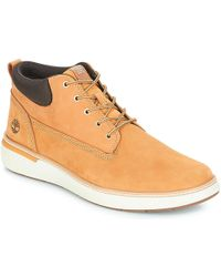 Timberland Cross Mark Pt Chukka Shoes (high-top Trainers) in Blue ... 3bd6fac2e0aa