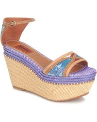 Missoni - Tm26 Women's Sandals In Blue - Lyst