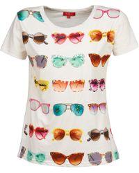 Rene' Derhy - Damocles Women's T Shirt In White - Lyst