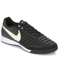 Nike - Tiempox Ligera Iv Indoor Court Men s Football Boots In Black - Lyst 56c1b148a1c