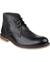 Hush Puppies - Benson Rigby Men's High Boots In Black - Lyst