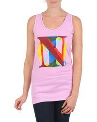 Nixon - Pacific Tank Women's Vest Top In Pink - Lyst