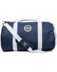 Hype - Men's Badge Logo Holdall Bag, Blue Men's Travel Bag In Blue - Lyst