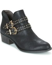 S.oliver - Chili Women's Low Boots In Black - Lyst