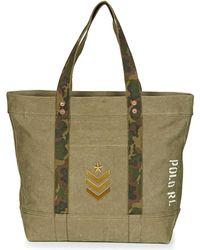 Polo Ralph Lauren - Lg Pp Tote Women s Shopper Bag In Green - Lyst 8086c9675364a
