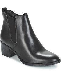 Tamaris - Carad Women's Low Ankle Boots In Black - Lyst