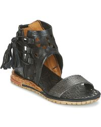 A.S.98 - Punch Women's Sandals In Black - Lyst