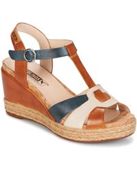 Pikolinos - Mojacar W7r Women's Sandals In Brown - Lyst