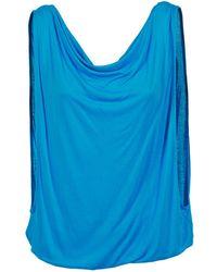 Bench - Changeyourmind Women's Vest Top In Blue - Lyst