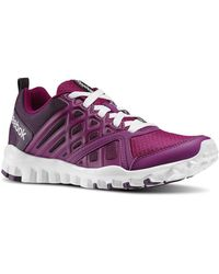 Reebok - Realflex Train Men's Running Trainers In Pink - Lyst
