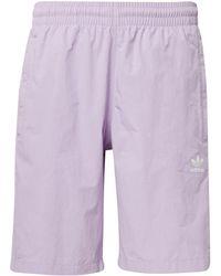 adidas - Short de bain 3-Stripes hommes Maillots de bain en violet - Lyst