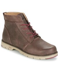Caterpillar - Alessia Women's Mid Boots In Brown - Lyst