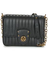 6966150aa4 Lauren by Ralph Lauren - Milbrook Chain Crossbody Women s Shoulder Bag In  Black - Lyst