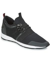 HUGO - Hybbrid Run Mxsc1 Men's Shoes (trainers) In Black - Lyst