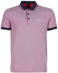 BOSS Athleisure - 50383907 Men's Polo Shirt In Blue - Lyst