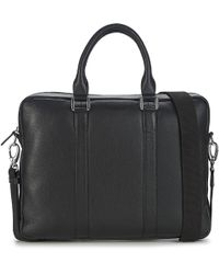 Le Tanneur - Bruno Men's Briefcase In Black - Lyst