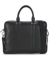 Le Tanneur | Bruno Men's Briefcase In Black | Lyst