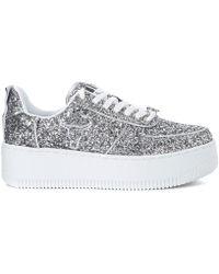 f960ed0973e7 Windsor Smith - Rosine Silver Glitter Trainer Men s Shoes (trainers) In  Silver - Lyst