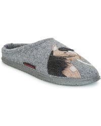 Giesswein - Nomborn Women's Slippers In Grey - Lyst