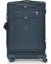 Kipling - Youri Spin 68 Men's Soft Suitcase In Blue - Lyst