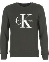 21381db1b57 Calvin Klein - CREWNECK HWK hommes Sweat-shirt en Noir - Lyst