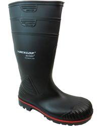 Dunlop | Aa442031 Men's Wellington Boots In Black | Lyst