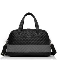 MZ Wallace - Jimmy Tote Bag | Black/reflective Women's Sports Bag In Black - Lyst