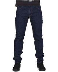 Elade - Logo Slim Db Women's Jeans In Multicolour - Lyst