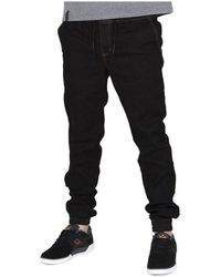 Elade - Jogger Blk Women's Jeans In Multicolour - Lyst