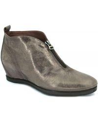 Hispanitas - Adda Hi-63849 Women's Low Ankle Boots In Gold - Lyst