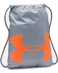 Under Armour - Ozsee Sackpack - Graphite Women's Backpack In Black - Lyst