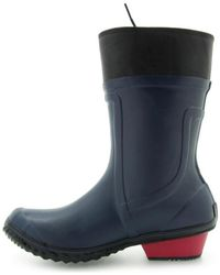 Sorel - Conquest Carly Glow Women's Wellington Boots In Multicolour - Lyst