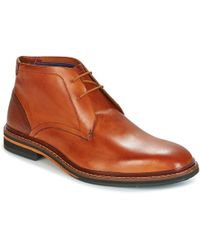 Ted Baker - Azzlan Men's Mid Boots In Brown - Lyst