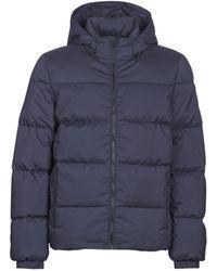 Calvin Klein - HOODED DOWN JACKET hommes Doudounes en bleu - Lyst