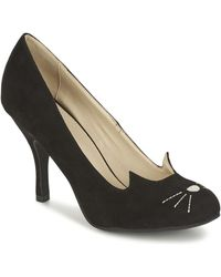 T.U.K. - Character Heels Women's Court Shoes In Black - Lyst