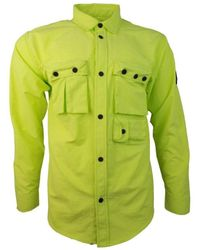 04e90ff749a Marshall Artist - Hiking Overshirt Men s Long Sleeved Shirt In Green - Lyst