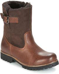 Blackstone - Ol05 Women's Mid Boots In Brown - Lyst