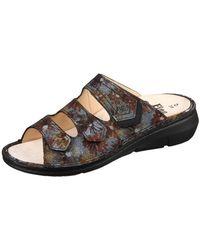 Finn Comfort - Kailua Marron Fleur Buggy Women's Mules / Casual Shoes In Multicolour - Lyst
