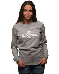 L'affaire De Rufus - Hoodie Batignolles Femme Women's Jumper In Grey - Lyst