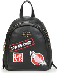 Love Moschino - Jc4097 Women's Backpack In Black - Lyst