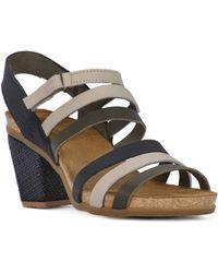 El Naturalista - Soft Grain Women's Sandals In Multicolour - Lyst