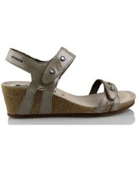 Mephisto - S Minoa Women's Sandals In Gold - Lyst