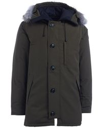 Canada Goose - Chateau Hunter Green Parka Men's Parka In Green - Lyst