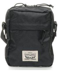 Levi's | Levis Messenger Bag - Black Men's Pouch In Black | Lyst