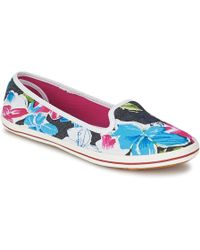 U.S. POLO ASSN. | Giada Women's Slip-ons (shoes) In Multicolour | Lyst