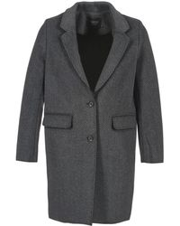 ELEVEN PARIS - Tableaubis Women's Coat In Grey - Lyst