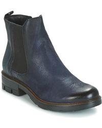 Dream in Green - Fenoullia Women's Mid Boots In Blue - Lyst